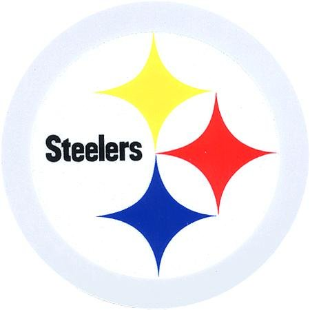 Pittsburgh Steelers Logo Reflective Decal at Amazon.com