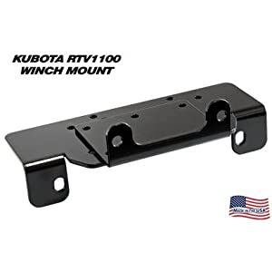 KFI Products 100750 Winch Mount for Kubota RTV 1100 by KFI Products