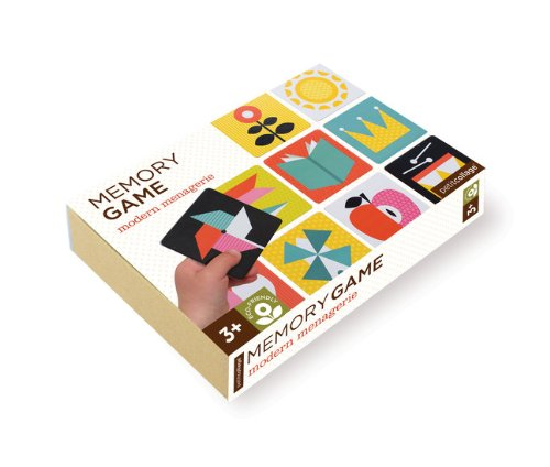 Petit Collage Memory Game, Modern Menagerie front-277516