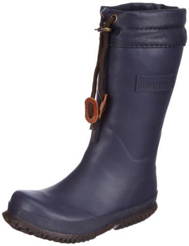 Bisgaard Gummistiefel mit Wollfutter Boots Unisex-Child Blue Blau (navy 4) Size: 34