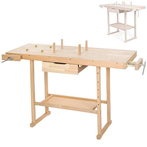 TecTake Holz Werkbank – XL