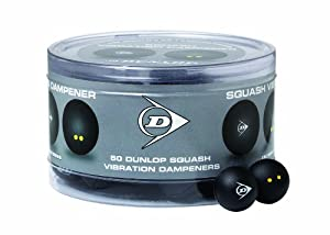 Buy Dunlop Sports Vibration Dampener Squash - Pack Of 50 by Dunlop Sports