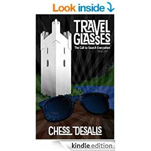 Travel glasses book cover