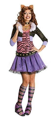 Rubies Womens Halloween Costume Monster High Clawdeen Wolf Party Fancy Dress