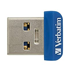 Verbatim 16 GB Store 'n' Stay Nano USB 3.0 Flash Drive, Blue 98709
