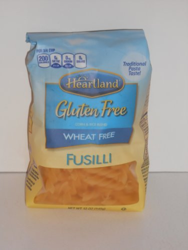 HEARTLAND GLUTEN FREE, WHEAT FREE FUSILLI 12 oz (Pack of 3)