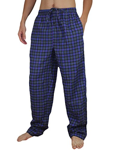 Stafford Mens Cotton Plaid Sleepwear / Pajama Pants Xl Multicolor