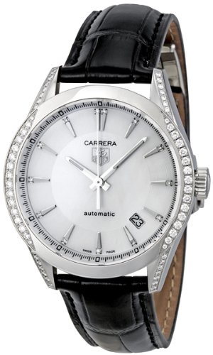Tag Heuer Carrera Mother of Pearl Ladies Watch WV2212.FC6302