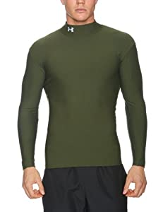 Under Armour Aggression ColdGear Mock Neck Top - Klein