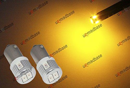2-x-smd-led-hid-gelb-bernstein-orange-233-t4-w-ba9s-bajonett-leuchtmittel-lampen