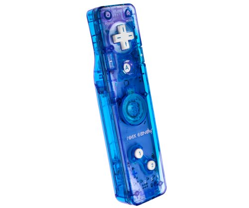 PDP Rock Candy Wii Wii U Gesture Controller Brand New (Blue)