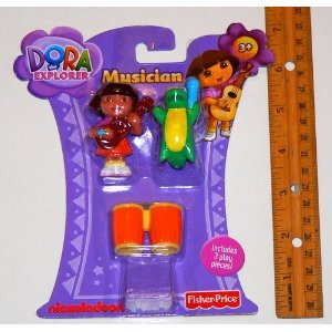41wK9 uYLhL Buy  Dora the Explorer *** Musician *** 3 Piece Play Set