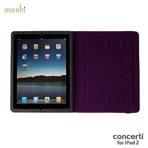 Moshi Concerti for iPad 2 - Tyrian Purple