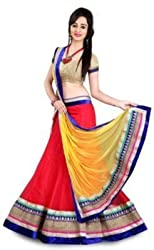 MUTA BEST COLLECTION NET DESIGNER LEHENGA