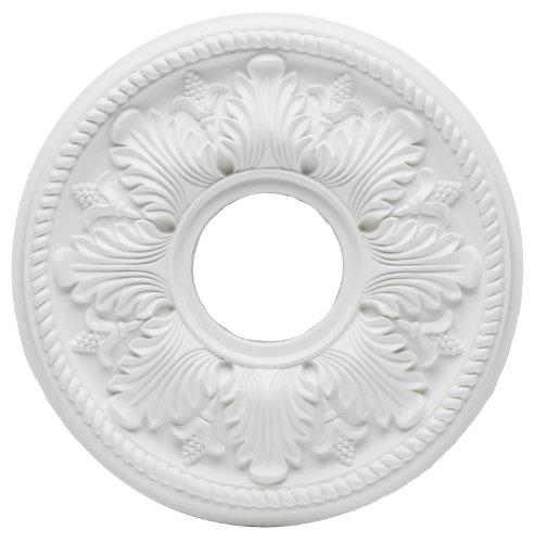 Westinghouse Lighting 7775000 Bellezza Polyurethane Ceiling Medallion, 14-Inch Diameter