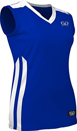 PT248W Ladies Performance Basketball Pro Jersey-Sweat and Odor Reducing Fabric by Game Gear