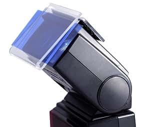 Kit 55 gélatines flash et porte gélatine plexiglas pour filtre couleur flash