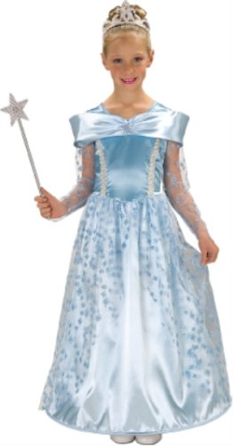 Child's Blue Star Princess Costume - Large