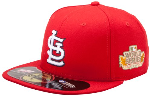 MLB St. Louis Cardinals 2011 World Series Onfield Side Patch Cap
