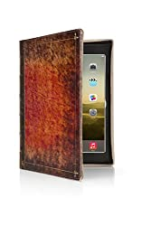 Twelve South Rutledge BookBook for iPad Air | Artisan leather book case and display stand