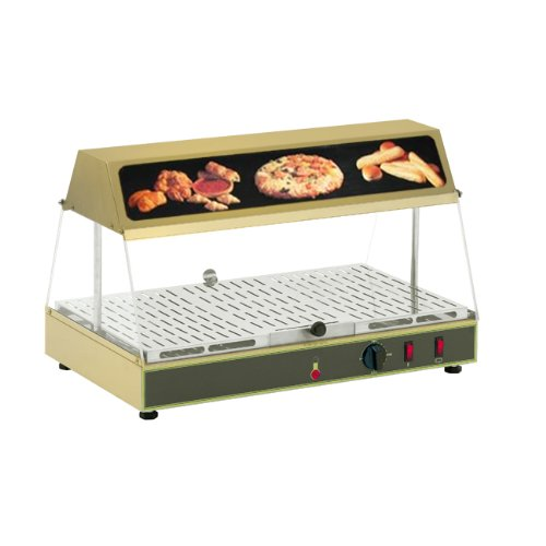 Equipex Wonder Countertop Warming Display, 24 x 14 x 12 inch -- 1 each.