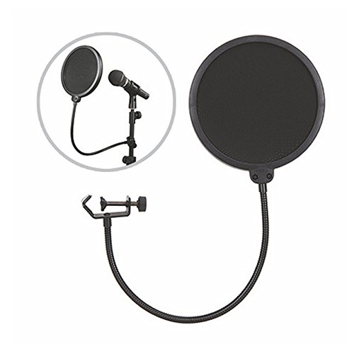 Eyouth New Double Layer Recording Studio Microphone Mic Wind