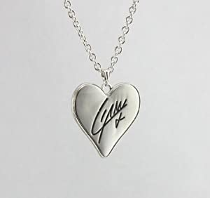 Liam I Love One Directioner Heart Signature Necklace w/ Special Gift Box from Fun Daisy Jewelry
