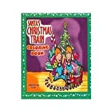 Santa's Christmas Train Coloring Book