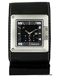 Fastrack Analogue Black Dial Men Watch - (3004SL02)