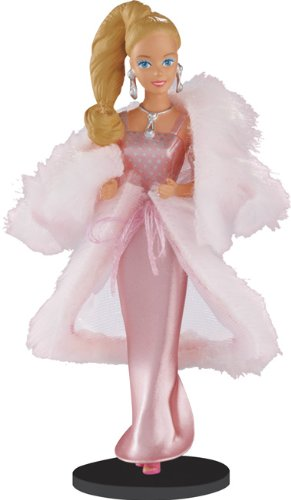 Carlton Heirloom Series Ornament 2013 Vintage Fashion Barbie #1 – Pink & Pretty – #CXOR081D