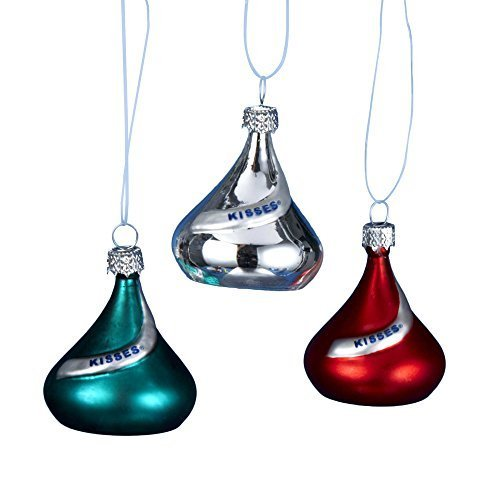 kurt-adler-glass-hersheys-mini-kisses-ornament-15-inch-set-of-6-by-kurt-adler