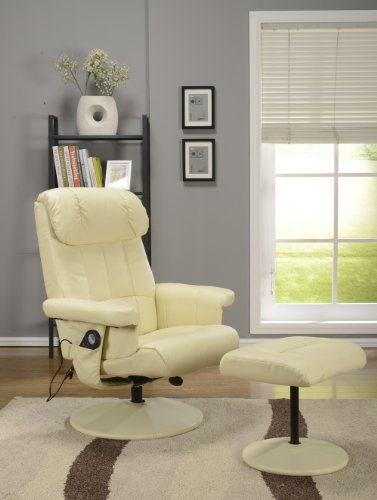 Swivel Recliner With Ottoman front-420932