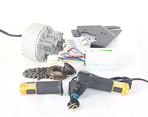 450W Electric Bicycle Cheap Motor Kit Easy To DIY E-bike Economic Ebike Conversion Kit Electric Bike Side Mounted Motor Design (24V450W)