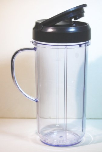 Magic Bullet On The Go Mug With Flip Top Travel Lid front-627635
