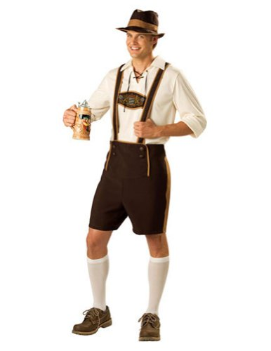 Bavarian Guy Md Halloween Costume - Adult Medium