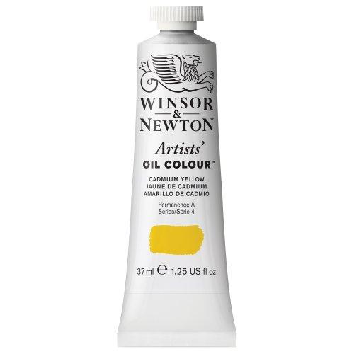 Winsor & Newton Artists Oil Color Paint Tube, 37ml, Cadmium Yellow (Cadmium Yellow Oil Paint compare prices)