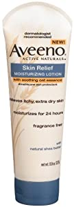 Aveeno Active Naturals Moisturizing Lotion Skin Relief with Soothing Oat Essence, 8 Ounce