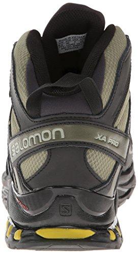 Salomon Men's XA Pro Mid GTX Hiking Shoe,Iguana Green