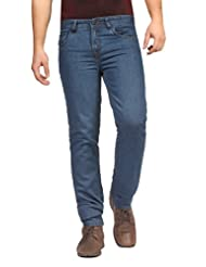 FN Jeans Stylish Blue Slim Fit Low Rise Denim For Men | FNJ9162