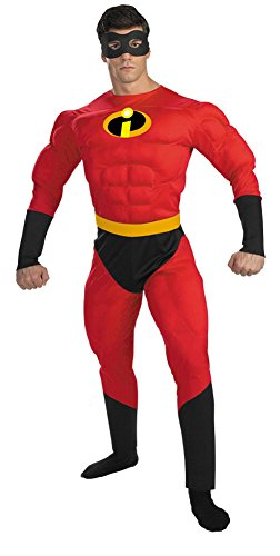Mr Incredible Muscle Adult Halloween Costume - Adult 42-46