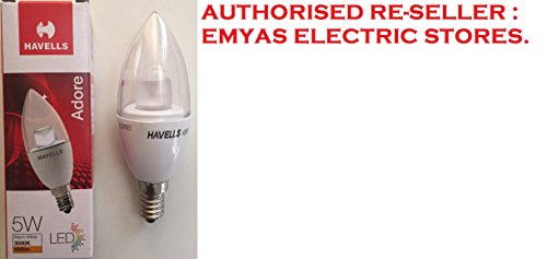 Havells-Adore-5W-E14-Candle-LED-Bulb-(Warm-White)