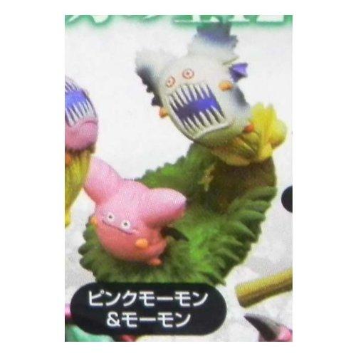 スクウェア・エニックス ドラゴンクエスト モンスターズギャラリー HD5 ピンクモーモン&モーモン 食玩フィギュア