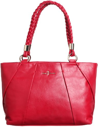 Cole Haan Womens Adele Small Tote Shoulder Bag, Velvet Red, One Size (Cole Haan Key compare prices)