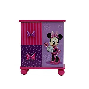 Minnie mouse jewelry boutique jewelry boxes for Minnie mouse jewelry box
