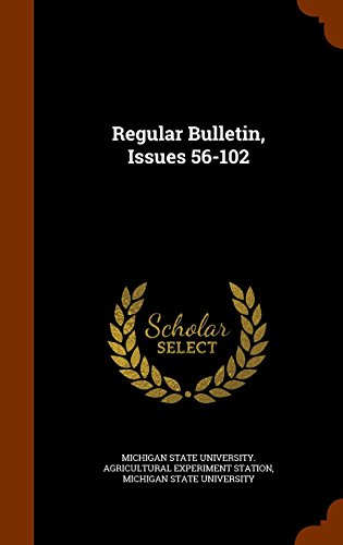 Regular Bulletin, Issues 56-102