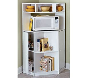 Microwave Stand (PINE) - Kitchen Storage And Organization Products
