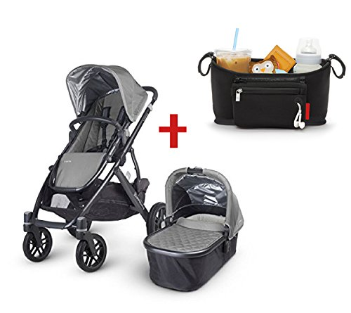 2015-Uppababy-Vista-Stroller-Pascal-Grey-Universal-Stroller-Console