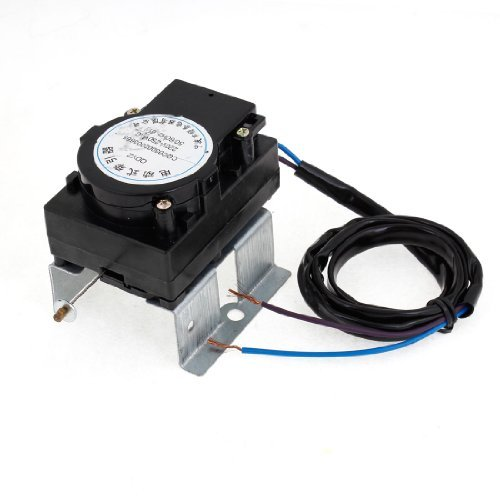 Water & Wood AC220V-250V 50/60Hz 6 Watt Power Black Drainage Valve Tractor for Washing Machine