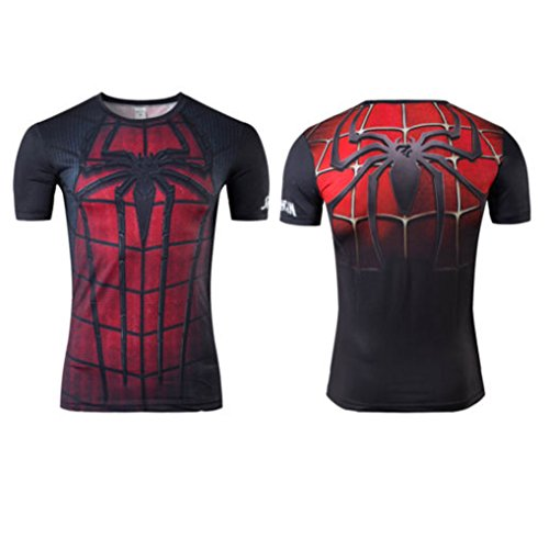 Mens Women Avengers Marvel DC Comics T-Shirt Super Heroes Bike Jersey Cycling Spider-Man 7 2XL