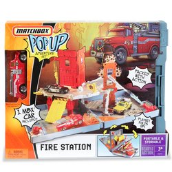 Matchbox Compact Pop-Up Playset - Fire Station - Buy Matchbox Compact Pop-Up Playset - Fire Station - Purchase Matchbox Compact Pop-Up Playset - Fire Station (Mattel, Toys & Games,Categories,Play Vehicles,Vehicle Playsets)